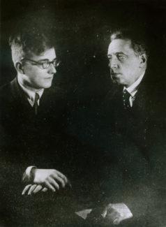 Дмитрий Шостакович и Всеволод Мейерхольд. Фото - Getty Images