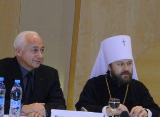 Владимир Спиваков и Митрополит Иларион