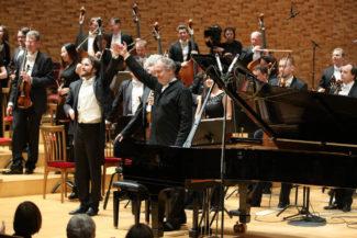 До Мариинки Даниил Трифонов уже исполнял цикл рахманиновских концертов в концертных залах Лондона и Нью-Йорка. Фото - Наташа Разина / Мариинский театр