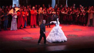 "Театр ""Геликон-опера"" показал оперу Дж. Пуччини ""Турандот"". Фото - Владимир Зисман"