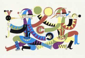 В Центральном музее музыкальной культуры состоится презентация выставки «Борис Мессерер. Танец скоморохов»