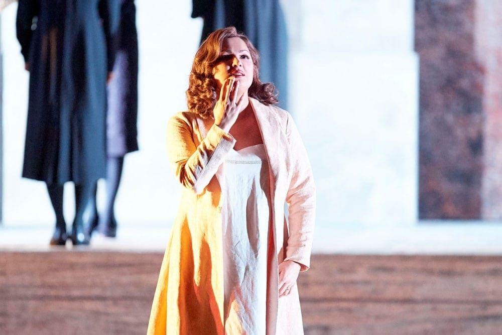 Анна Нетребко в роли Леоноры в Венской опере. Фото - Венская опера