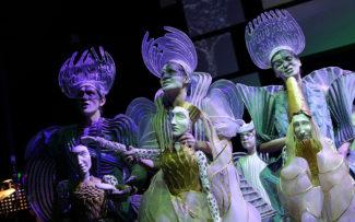 Премьера оперы Бенджамина Бриттена «Ноев ковчег» в Музыкальном театре имени Н. Сац. Фото - Елена Лапина