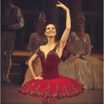 Балерина Мария Александрова в гостях у Сати Спиваковой