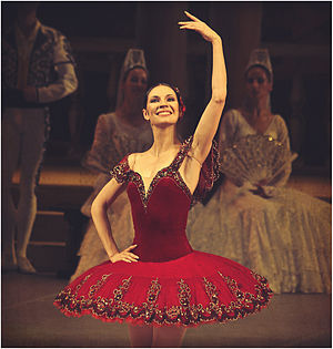 """Мария Александрова в балете """"Дон Кихот"""""""