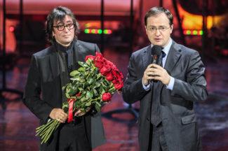 Юрий Башмет и Владимир Мединский