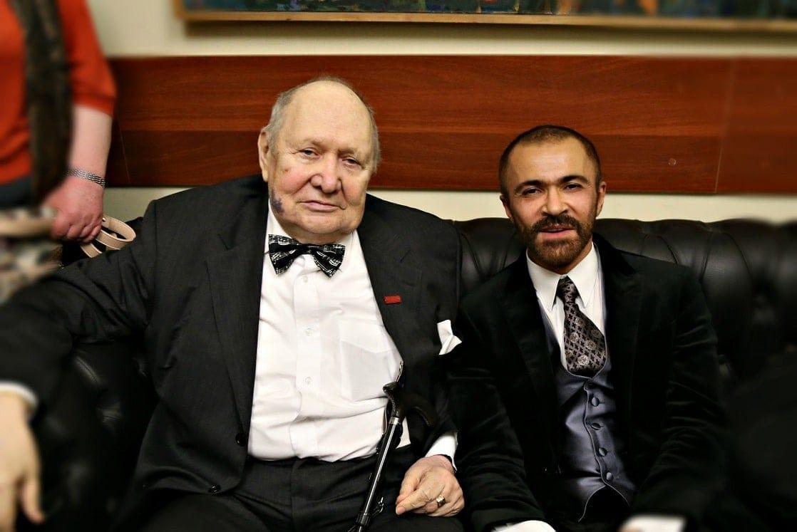 Сергей Доренский и Павел Нерсесьян. Фото - Ирина Шымчак