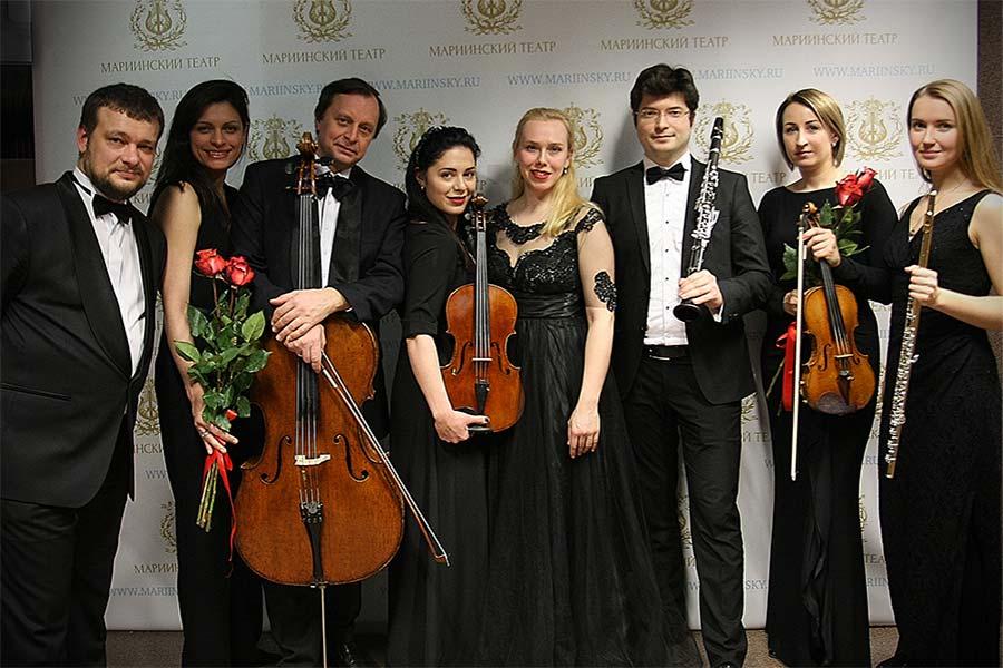 В Концертном зале Мариинского театра состоялся вечер арфы
