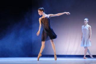 W.Oda – одноактный балет на музыку Филипа Гласса. Фото - Наталья Мущинкина