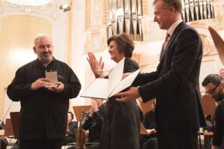 Дирижер Марк Минковски (слева) покинет пост интенданта Моцартовских недель с чувством выполненного долга. Фото - Wolfgang Lienbacher
