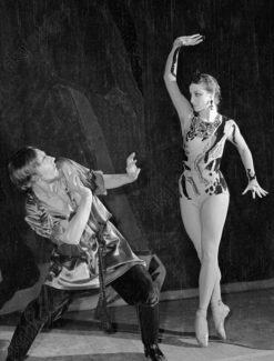 Майя Плисецкая - Хозяйка Медной горы, Владимир Левашов - приказчик Северьян. Большой театр, 1959 год