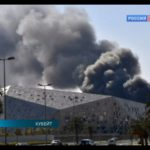 В недавно открытом Доме оперы в Эль-Кувейте вспыхнул пожар
