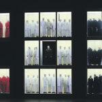 Диспозиция героев по диагонали: Саломея, Иоканаан, Ирод. Фото - Наташа Разина/Мариинский театр
