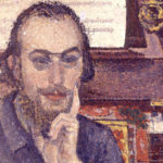 Антуан Де Ларошфуко, Портрет Эрика Сати, 1894 год