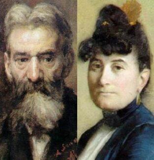 Пьер Жозефа Равеля и Мари Равель (Делуар) – в более поздние годы, конечно.
