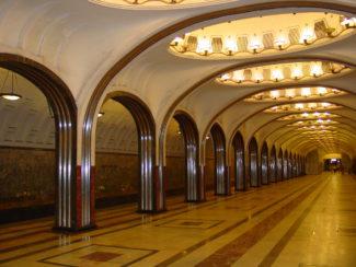 Moscow-Mayakovskaya-Metro-Station