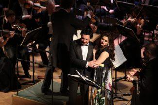 Динара Алиева на открытии Второго фестиваля «Опера Art»