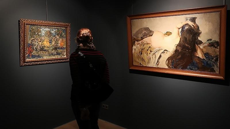 Выставка коллекции Екатерины Гельцер. Фото - ИЗВЕСТИЯ/Михаил Терещенко
