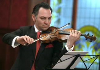 Карэн Шахгалдян на пресс-конференции, посвященной презентации Мальтийского международного музыкального фестиваля