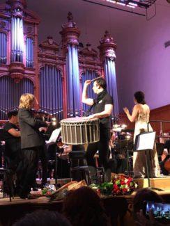 Теодор Курентзис и оркестр musicAeterna в БЗК. Фото - Александр Швейдель