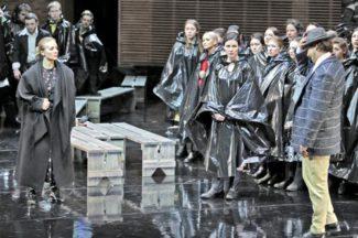Опера «Не только любовь». Фото - Наталья Разина