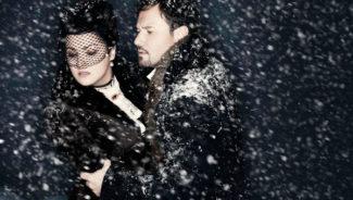 Анна Нетребко и Мариуш Квечень в постановке оперы Чайковского «Евгений Онегин» на сцене Met