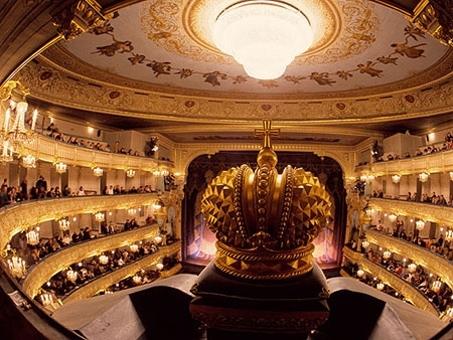 Царская ложа Мариинского театра