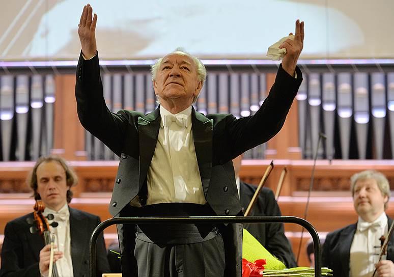 Юрий Темирканов. Фото - Юрий Мартьянов