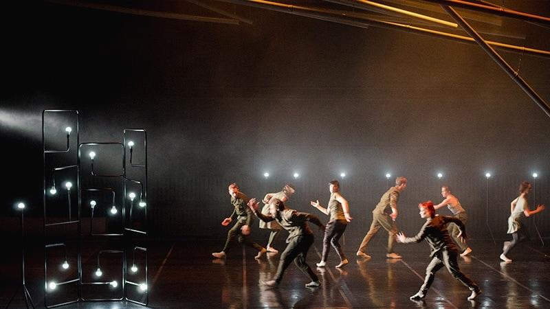 В Москве представили балет «Завод машин». Фото - Александр Кияткин