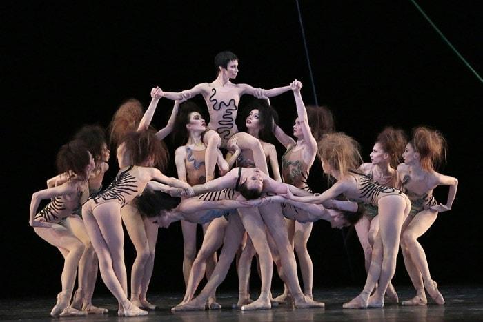 Большой балет на этюдах