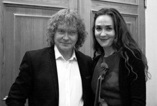 Александр Князев и Ксения Дубровская