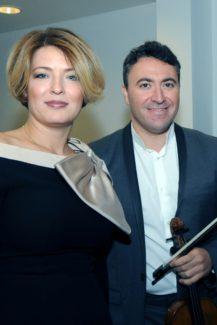 Полина Осетинская и Максим Венгеров