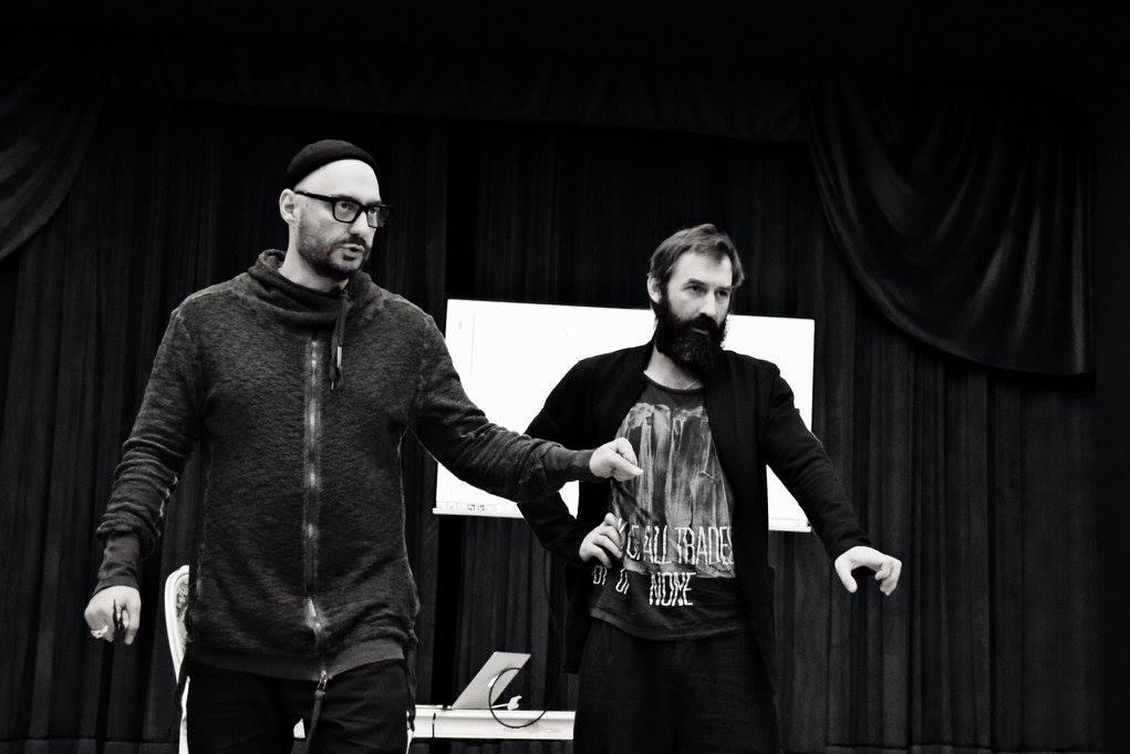 Кирилл Серебренников и Алексей Трегубов. Фото - Ирина Шымчак