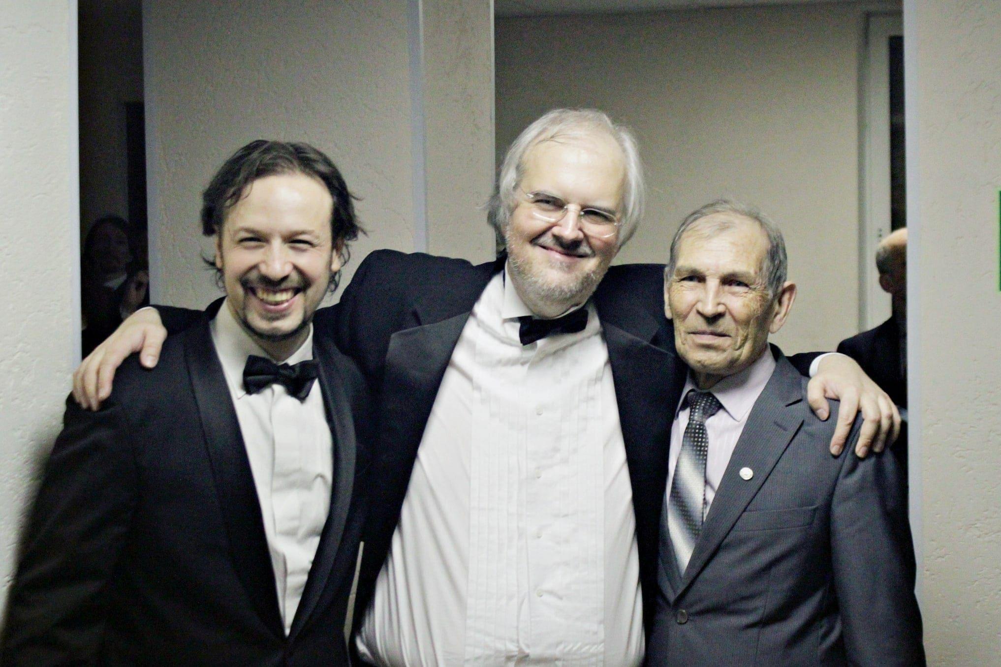 Станислав Овчинников, Николас Ангелич и Владимир Бирюков. Фото - Ирина Шымчак