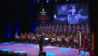 Ансамбль имени Александрова выступил в Стамбуле вместе с Иосифом Кобзоном
