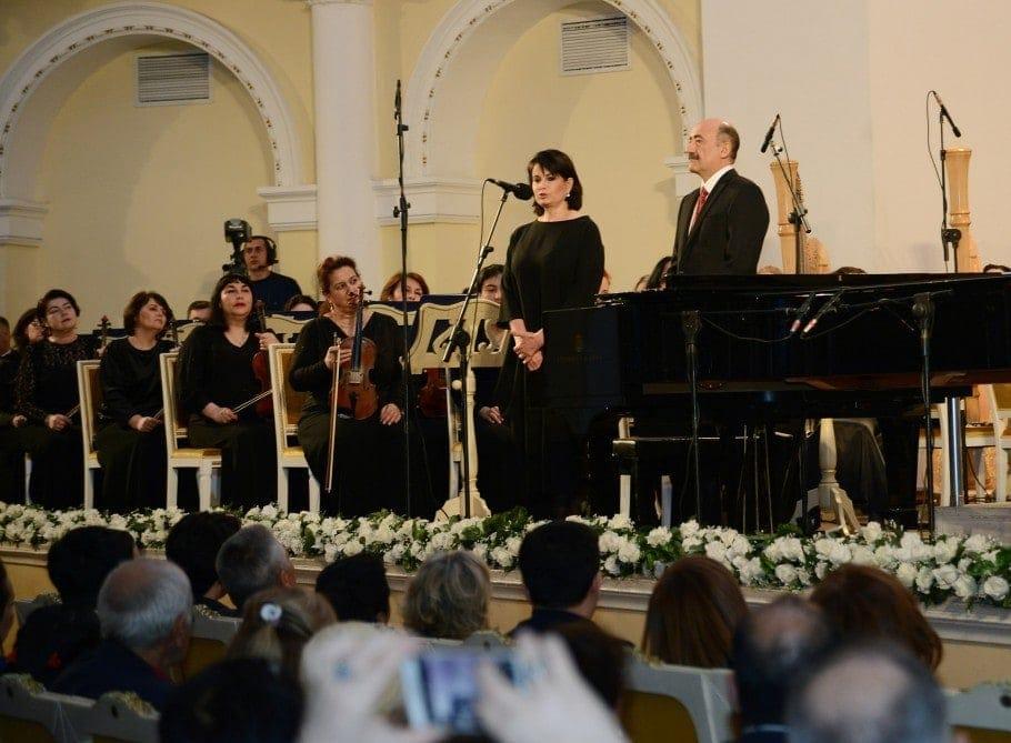 В Баку открылся Международный фестиваль Мстислава Ростроповича. Фото - 1news.az