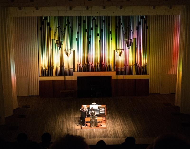 Мария Блажевич выступила в Волгограде с концертом органной музыки «Бах&ROCK»