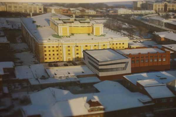 Для Челябинского оперного театра построят новый декорационный цех. Фото - dostup1.ru