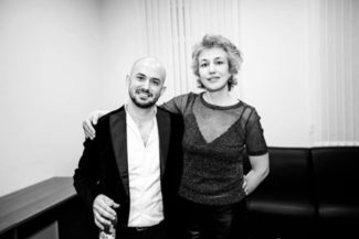 С Франко Фаджоли. Фото - Opera Apriori/Ira Polyarnaya