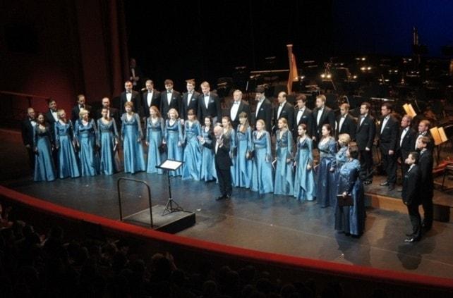 Пятое поколение артистов хора, 2016 год. Концерт «Шостакович вместо сумбура» в театре «Геликон-опера»