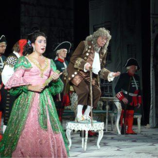 «Севильский цирюльник» в постановке Нижегородского театра оперы и балета