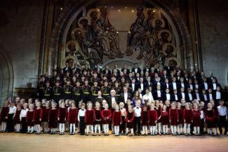Пасхальные песни народов мира прозвучали в храме Христа Спасителя. Фото - patrfest.ru