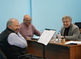 Дмитрий Ситковецкий, Владимир Познер, Михаил Кисляров