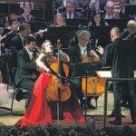 Молодая виолончелистка Алиса Вайлерштайн уже не в первый раз принимает участие в фестивале. Фото - Александр Куров/пресс-служба фестиваля