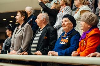 В Ульяновске прошел «Большой праздничный концерт» ко Дню Победы