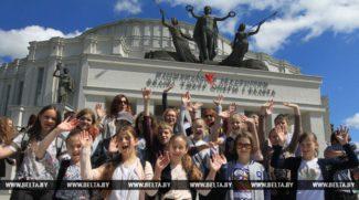 День открытых дверей в Большом театре Республики Беларусь. Фото - Геннадий Жинков, БЕЛТА