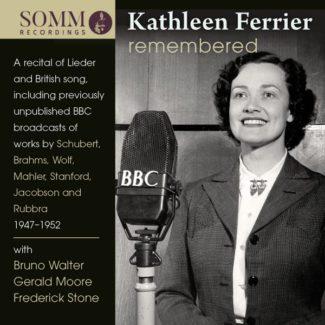 Лейбл Somm готовит к публикации 16 неизвестных записей Кэтлин Ферриер