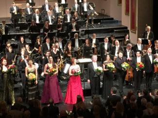 Блистательной кульминацией Дней Москвы в Дюссельдорфе стал совместный концерт «Геликон-оперы» и Рейнской оперы. Фото - Марина Райкина
