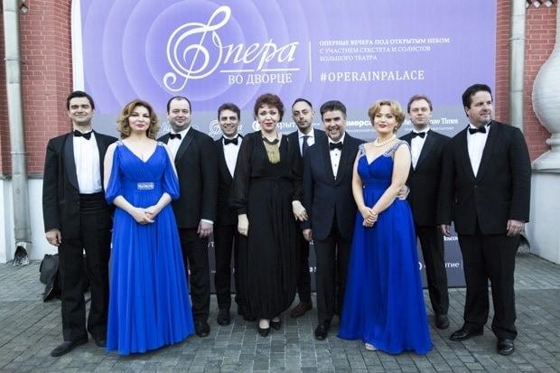 Артисты Большого театра. Фото - Надя Дьякова