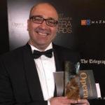 Художественный руководитель Детского музыкального театра Георгий Исаакян на церемонии вручения International Opera Awards. Лондон, 7 мая 2017 года